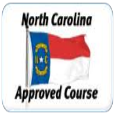 North Carolina Approved Course Flag
